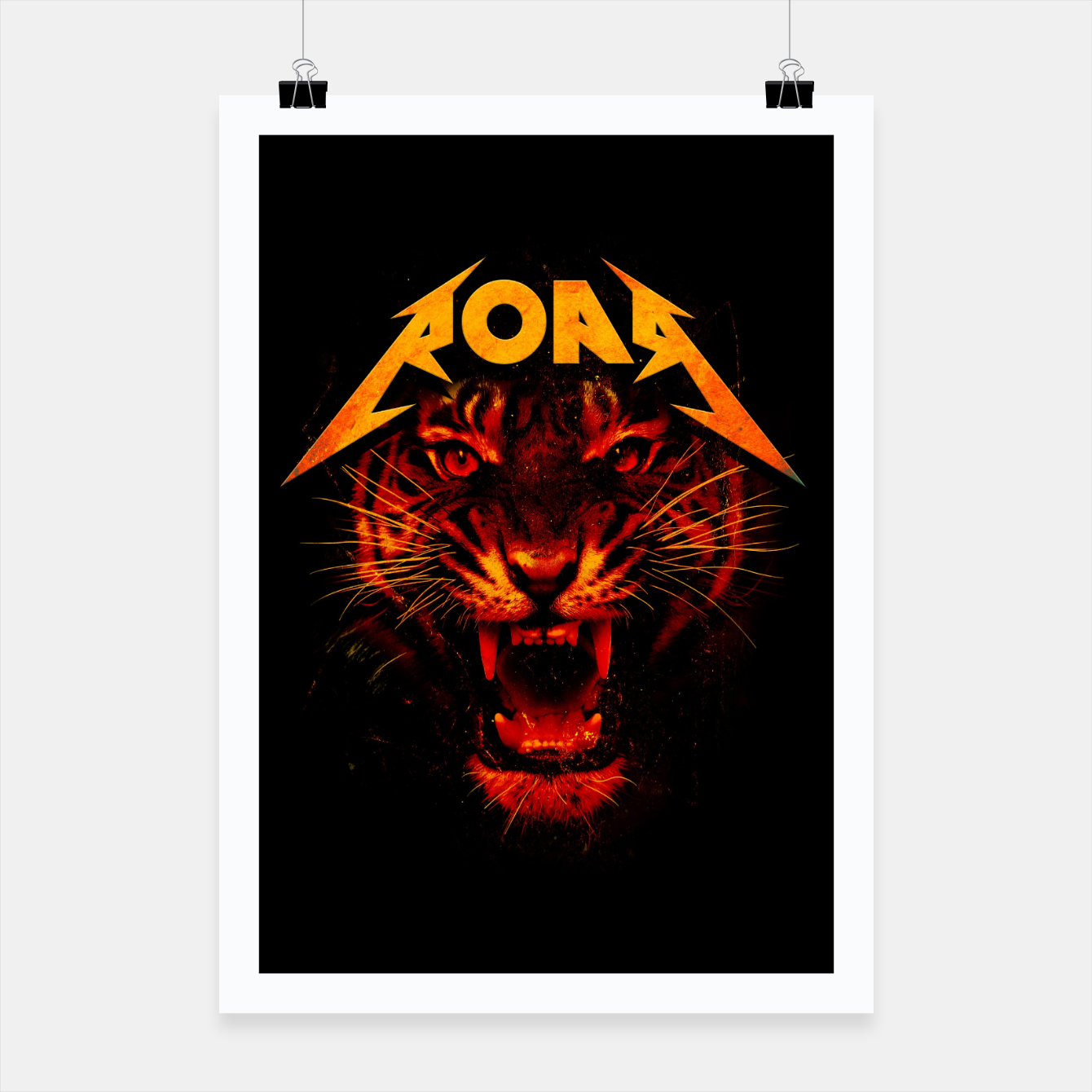 Image of Roar Poster - Live Heroes