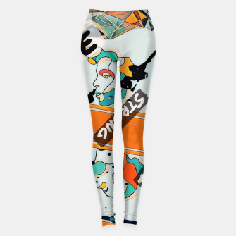 Thumbnail image of One line Leggings, Live Heroes