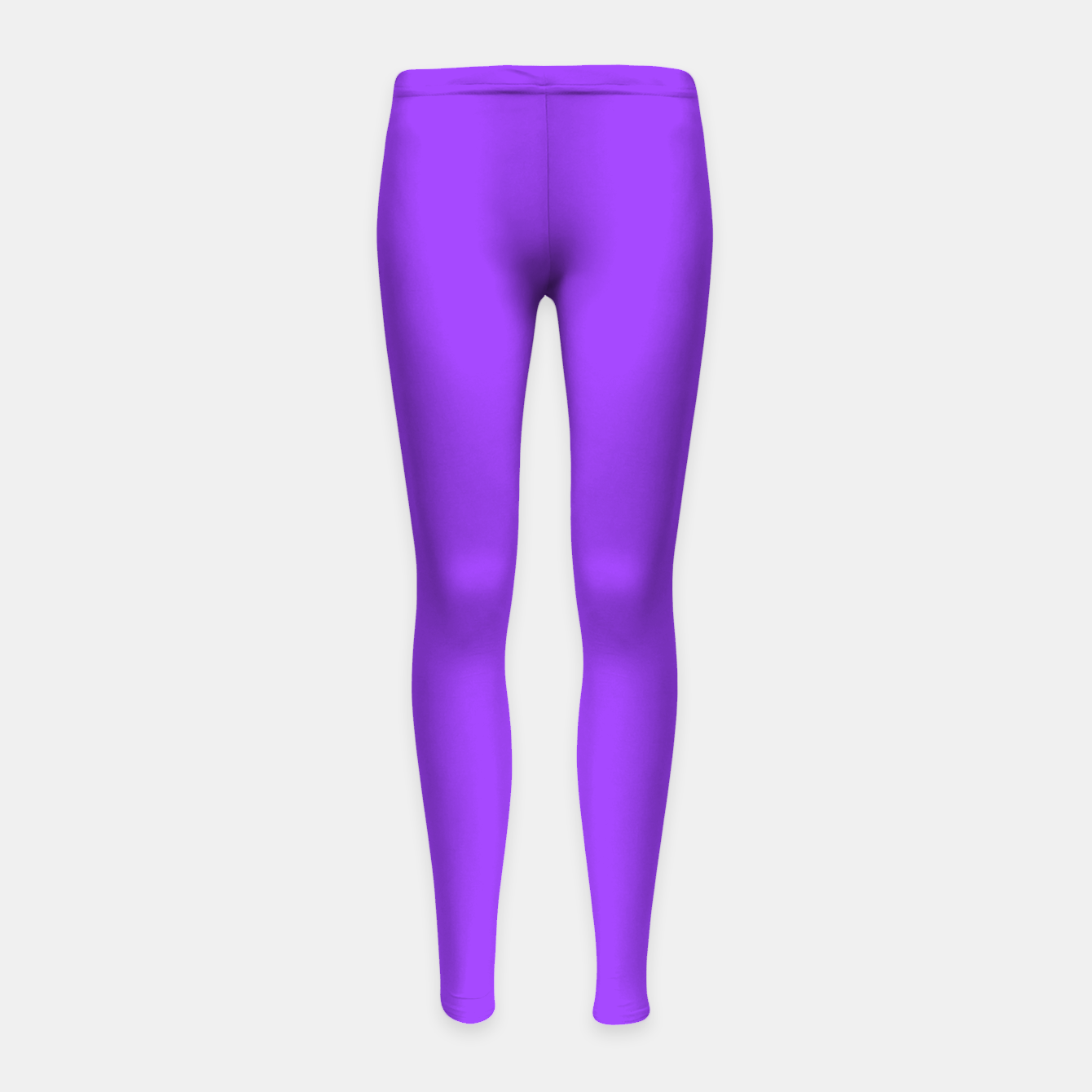 Image of Fluorescent Day glo Purple Neon Girl's leggings - Live Heroes