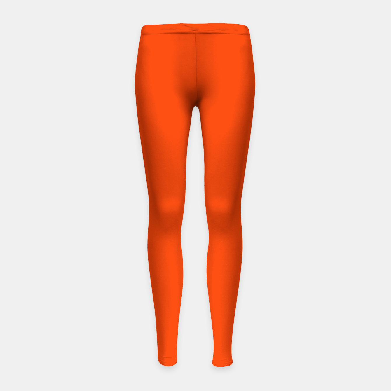 Imagen de Fluorescent Attack Orange Neon Girl's leggings - Live Heroes