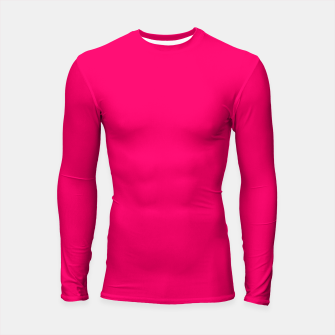 Thumbnail image of Bright Fluorescent Pink Neon Longsleeve rashguard , Live Heroes