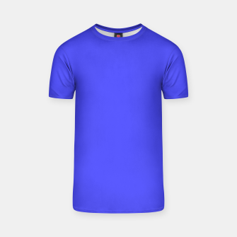 Thumbnail image of Electric Fluorescent Blue Neon T-shirt, Live Heroes