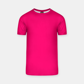 Thumbnail image of Bright Fluorescent Pink Neon T-shirt, Live Heroes