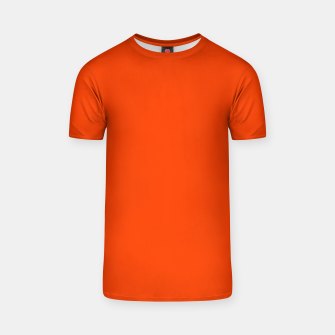Thumbnail image of Fluorescent Attack Orange Neon T-shirt, Live Heroes