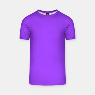 Thumbnail image of Fluorescent Day glo Purple Neon T-shirt, Live Heroes