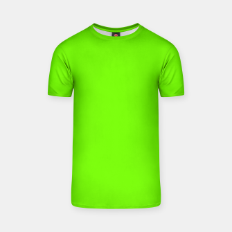 Thumbnail image of Bright Fluorescent Green Neon T-shirt, Live Heroes