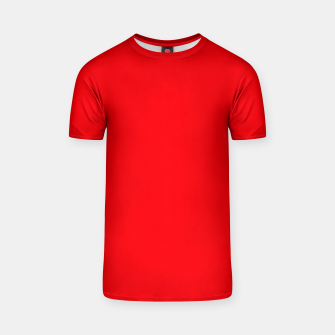 Thumbnail image of Fluorescent Fireball Red Neon T-shirt, Live Heroes