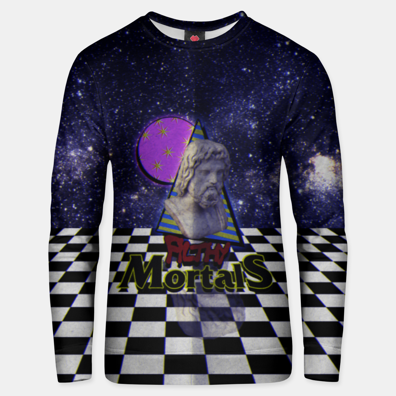 Foto ah these mortals and their futile clothing Unisex sweater - Live Heroes