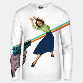 Thumbnail image of Dodged A Bullet Unisex sweater, Live Heroes