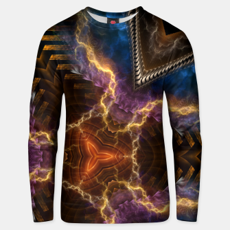 Thumbnail image of Lightning Flare Unisex sweater, Live Heroes