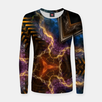 Thumbnail image of Lightning Flare Women sweater, Live Heroes