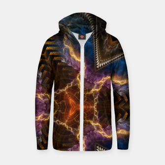 Thumbnail image of Lightning Flare Zip up hoodie, Live Heroes