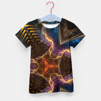 Thumbnail image of Lightning Flare Kid's t-shirt, Live Heroes