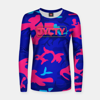 Thumbnail image of Fizzy Camo Women sweater, Live Heroes