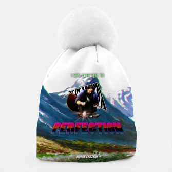 perfection 80s ad 2 Beanie Bild der Miniatur