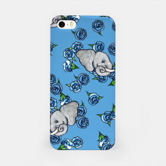 Thumbnail image of Elephant Blues iPhone Case, Live Heroes