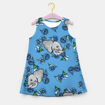 Thumbnail image of Elephant Blues Girl's summer dress, Live Heroes