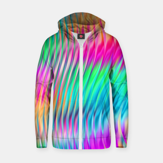 Thumbnail image of Abstract Design Zip up hoodie, Live Heroes