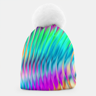Thumbnail image of Abstract Design Beanie, Live Heroes