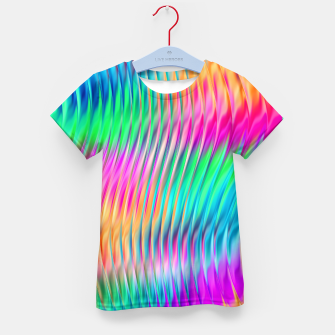 Thumbnail image of Abstract Design Kid's t-shirt, Live Heroes