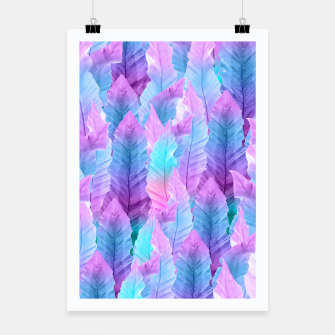 Thumbnail image of Mermaid Colored Leaves Vibes #1 #decor #art Plakat, Live Heroes