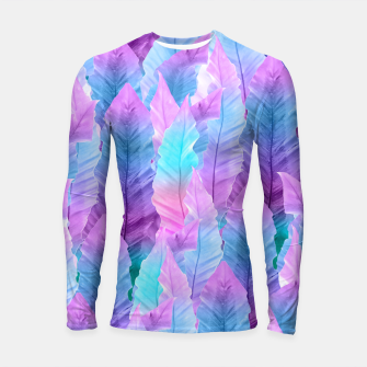 Thumbnail image of Mermaid Colored Leaves Vibes #1 #decor #art Longsleeve rashguard, Live Heroes