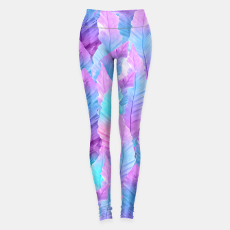 Thumbnail image of Mermaid Colored Leaves Vibes #1 #decor #art Leggings, Live Heroes