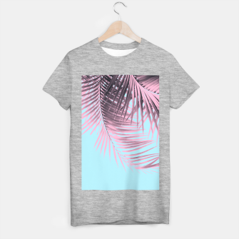 Thumbnail image of Palm Leaves Summer Vibes #7 #tropical #decor #art T-Shirt regulär, Live Heroes
