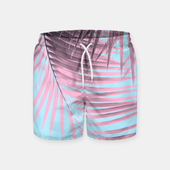 Thumbnail image of Palm Leaves Summer Vibes #7 #tropical #decor #art Badeshorts, Live Heroes