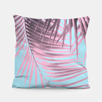 Thumbnail image of Palm Leaves Summer Vibes #7 #tropical #decor #art Kissen, Live Heroes