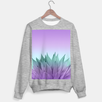 Thumbnail image of Agave Vibes #7 #tropical #decor #art Sweatshirt regulär, Live Heroes