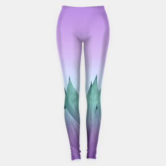 Thumbnail image of Agave Vibes #7 #tropical #decor #art Leggings, Live Heroes
