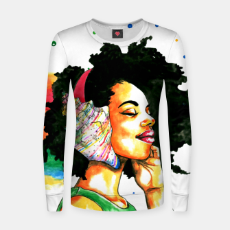 Thumbnail image of summer Women sweater, Live Heroes