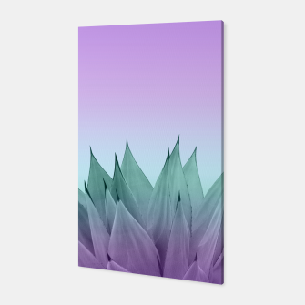 Thumbnail image of Agave Vibes #7 #tropical #decor #art Canvas, Live Heroes
