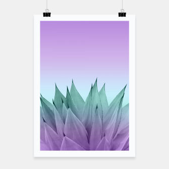 Thumbnail image of Agave Vibes #7 #tropical #decor #art Plakat, Live Heroes