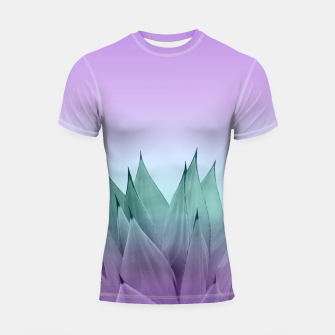 Thumbnail image of Agave Vibes #7 #tropical #decor #art Shortsleeve rashguard, Live Heroes
