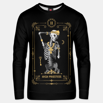 Thumbnail image of High Priestess II Tarot Card Unisex sweater, Live Heroes
