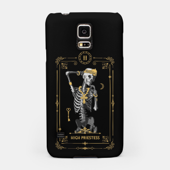 Thumbnail image of High Priestess II Tarot Card Samsung Case, Live Heroes