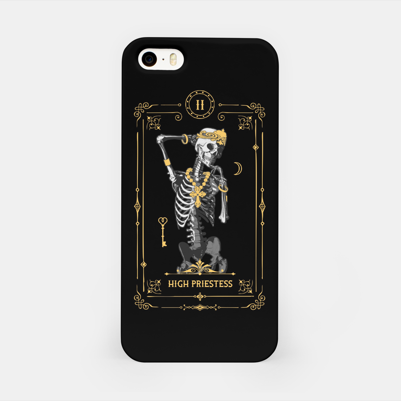 Image of High Priestess II Tarot Card iPhone Case - Live Heroes