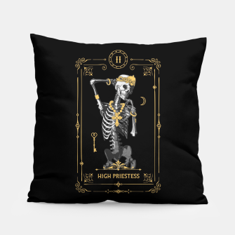 Thumbnail image of High Priestess II Tarot Card Pillow, Live Heroes