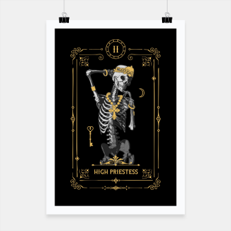 Thumbnail image of High Priestess II Tarot Card Poster, Live Heroes