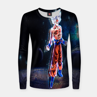 Thumbnail image of DRAGON BALL SUPER GOKU ULTRA MASTER INSTINCT 3D hologram Women sweater, Live Heroes