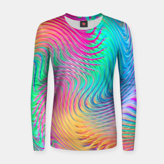 Thumbnail image of Abstract Design Women sweater, Live Heroes