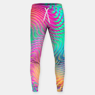 Miniatur Abstract Design Sweatpants, Live Heroes