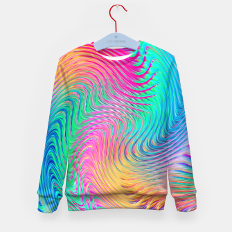 Thumbnail image of Abstract Design Kid's sweater, Live Heroes