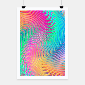 Thumbnail image of Abstract Design Poster, Live Heroes