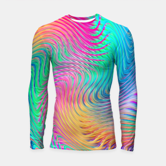 Thumbnail image of Abstract Design Longsleeve rashguard , Live Heroes