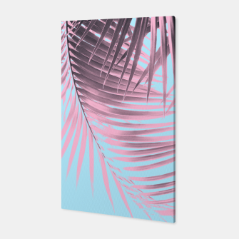 Thumbnail image of Palm Leaves Summer Vibes #7 #tropical #decor #art Canvas, Live Heroes