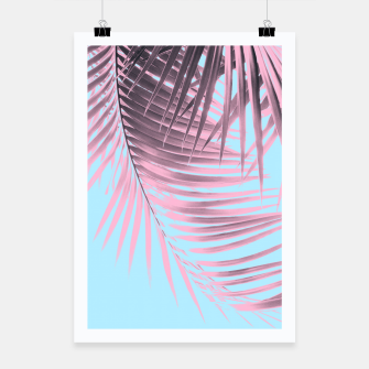 Thumbnail image of Palm Leaves Summer Vibes #7 #tropical #decor #art Plakat, Live Heroes