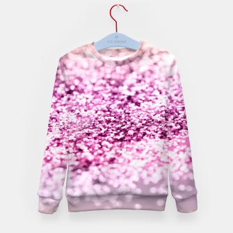 Thumbnail image of Unicorn Girls Glitter #7 #shiny #decor #art Kindersweatshirt, Live Heroes